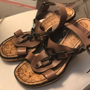 Authentic See by Chloe Wedge Sandals Size 37